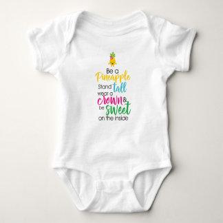 Body Para Bebê Seja um abacaxi