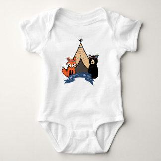 Body Para Bebê Seja um Bodysuit pequeno bravo da floresta