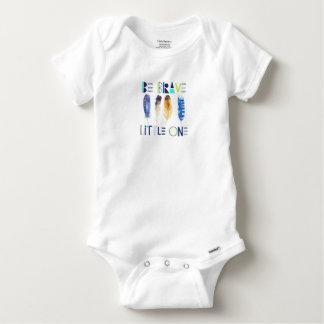 Body Para Bebê Seja um Romper pequeno bravo