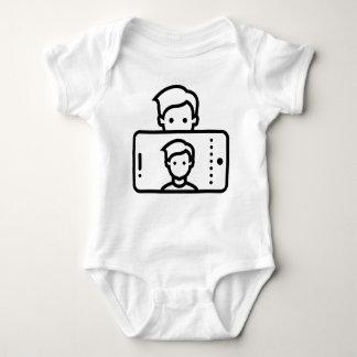 Body Para Bebê Selfie