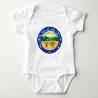 Body Para Bebê Selo do estado de Ohio