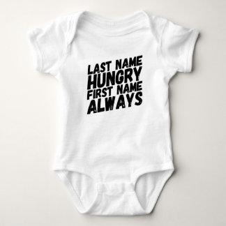 Body Para Bebê Sempre com fome