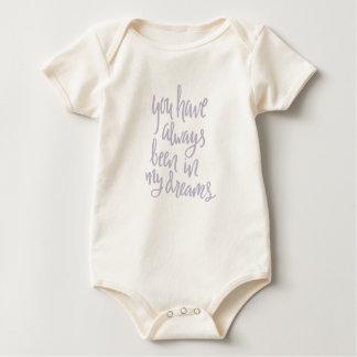 Body Para Bebê Sempre em minha roupa do bebê dos sonhos