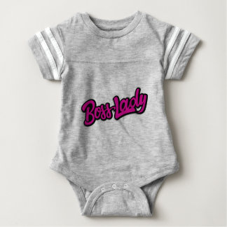 Body Para Bebê Senhora do chefe