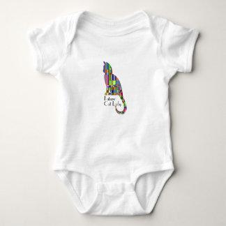 Body Para Bebê Senhora futura do gato - Bodysuit do bebê