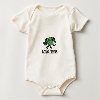Body Para Bebê senhora longa dos membros