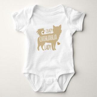 Body Para Bebê senhora louca da chihuahua