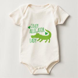 Body Para Bebê senhora louca do jacaré