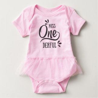 Body Para Bebê Senhorita One'derful
