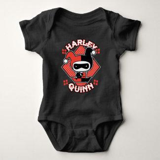 Body Para Bebê Separações de Chibi Harley Quinn
