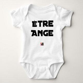 Body Para Bebê SER ANJO - Jogos de palavras - François Cidade