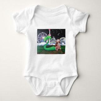 Body Para Bebê Sereia de Coney Island