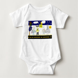 Body Para Bebê Série #2 do super-herói