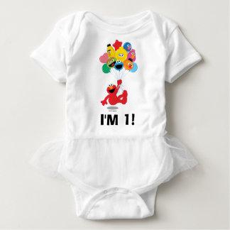 Body Para Bebê Sesame Street | Elmo & amigos - primeiro