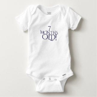 Body Para Bebê sete meses de bebê bonito idoso uma parte