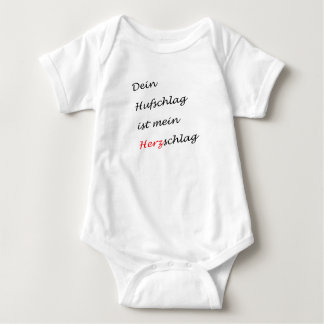 Body Para Bebê Seu golpe de casco é meu golpe de coração