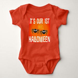 Body Para Bebê Seu nosso primeiro Dia das Bruxas