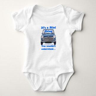 Body Para Bebê Seu uma mini coisa….Bodysuit do bebê