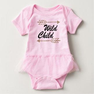 Body Para Bebê Sie selvagem da criança uma