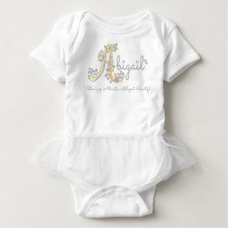 Body Para Bebê Significado feito sob encomenda decorativo do nome