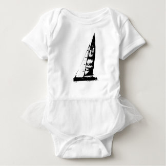 Body Para Bebê Silhueta do veleiro