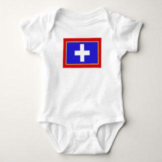 Body Para Bebê símbolo central da região do país da bandeira da