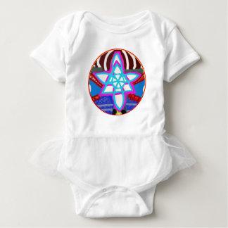 Body Para Bebê Símbolo cura cósmico de Reiki Karuna da ESTRELA