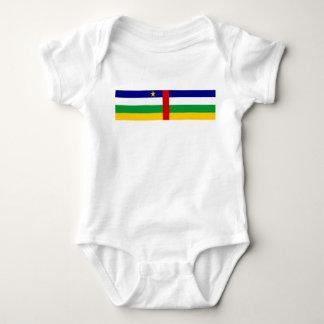 Body Para Bebê Símbolo da bandeira de país de Central African