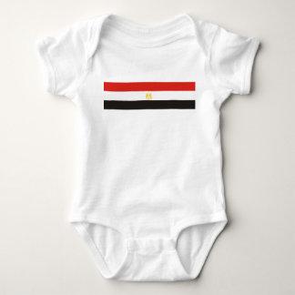 Body Para Bebê símbolo da bandeira de país de Egipto por muito