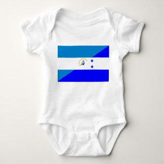 Body Para Bebê símbolo da bandeira do país da bandeira de