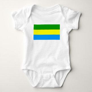 Body Para Bebê Símbolo de Indonésia da bandeira da cidade de