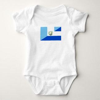 Body Para Bebê símbolo do país da bandeira de guatemala El
