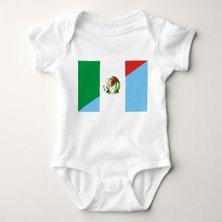 Body Para Bebê símbolo do país da bandeira de México guatemala