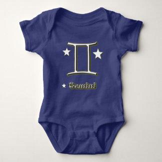 Body Para Bebê Símbolo dos Gêmeos