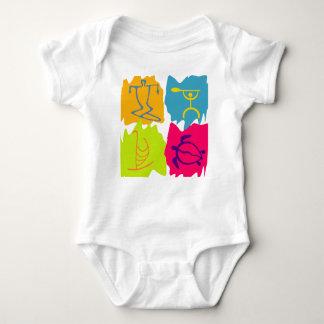 Body Para Bebê Símbolos do Hawaiian de PixDezines