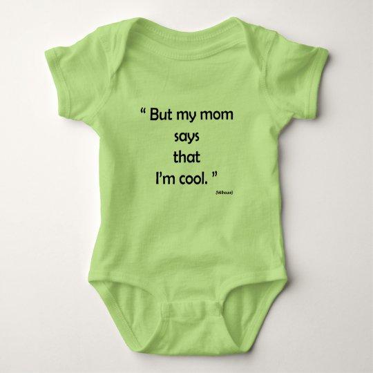 Body Para Bebê Simples look para bebe, verde, com frase