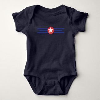 Body Para Bebê Simplesmente patriótico