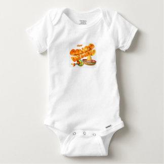 Body Para Bebê Sinal de Cinco De Mayo