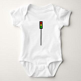 Body Para Bebê Sinal de trânsito em Pólo