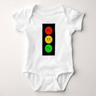 Body Para Bebê Sinal de trânsito temperamental verde inclinado