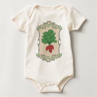 Body Para Bebê Sinal do rabanete
