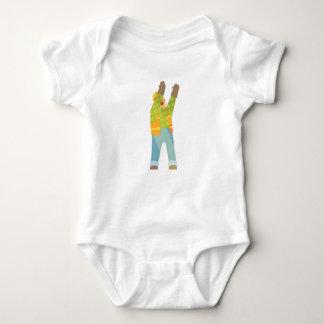 Body Para Bebê Sinalização do construtor no canteiro de obras