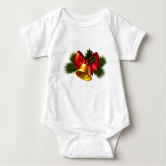 Body Para Bebê Sino de Natal