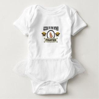 Body Para Bebê sinos do acesso da oração