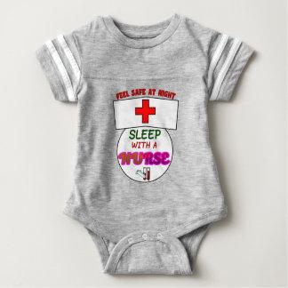 Body Para Bebê sinta a enfermeira segura do sono da noite,