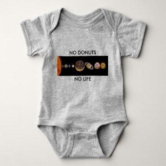 Body Para Bebê Sistema solar das rosquinhas
