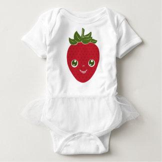 Body Para Bebê Skullberry, morango doce que tem o trapaceiro ido