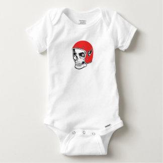 Body Para Bebê ☞ Skullracer motorcycle helmet