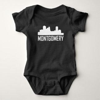 Body Para Bebê Skyline da cidade de Montgomery Alabama