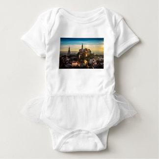 Body Para Bebê Skyline da república checa